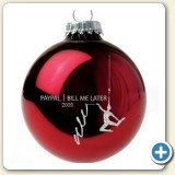 Christmas ornament company promotion
