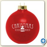 Christmas promotion with custom ornaments