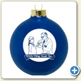 Custom logo Christmas ornament