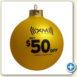 custom Christmas ornaments for advertising